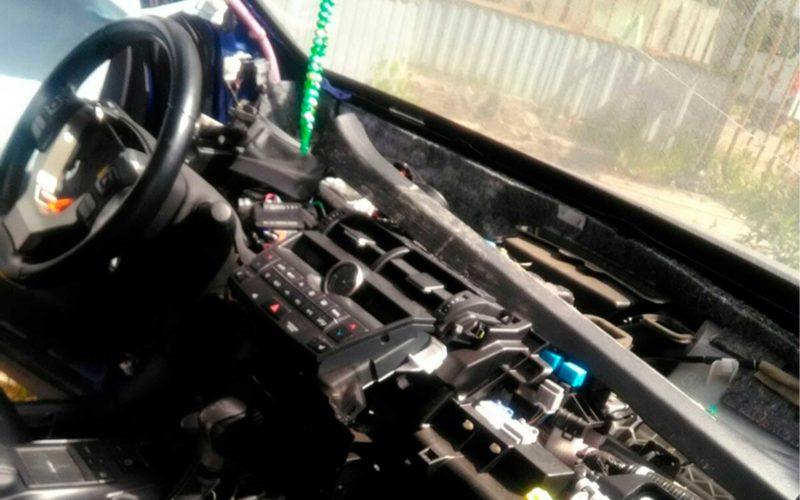 Полное восстановление систем безопасности автомобиля Lexus NX200